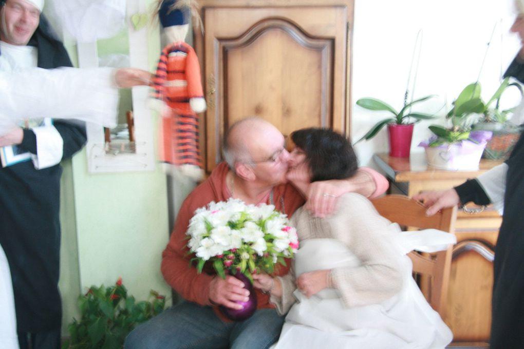 Album Visite surprise des Cousins pour fêter le mariage de Nadine et Hubert