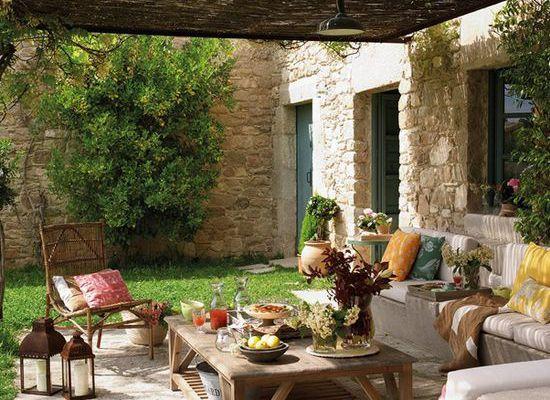 Porches de inspiración mediterránea ¿te gustan?