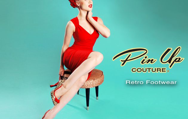 Lescarpinsexy & la collection Pin-Up Couture Pleaser