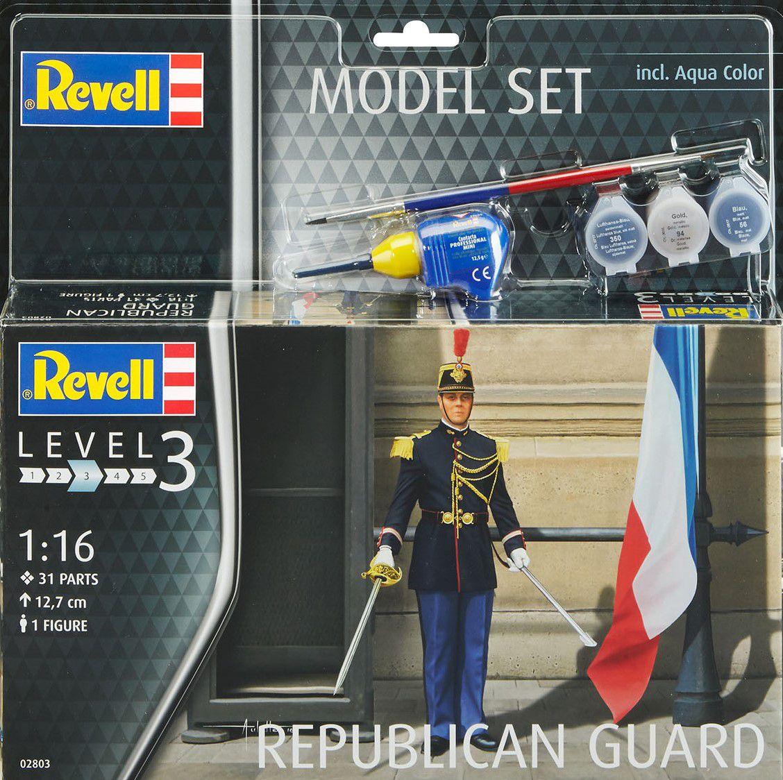Gardes républicains (ICM/Revell - 1/16)