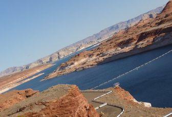 USA 2008 - part 16 - Glen Canyon Dam, le barrage du Lac Powell.