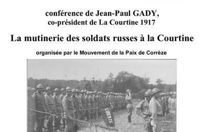 Conférence : 1917. La mutinerie des soldats russes à La Courtine