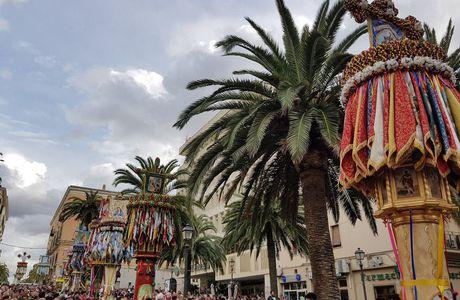 La Faradda di li candareri a Sassari - 14 Agosto