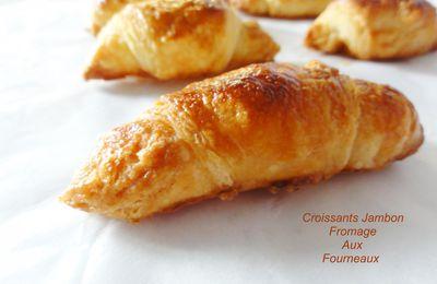 Croissant jambon fromage sans bechamel