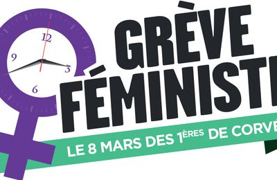 8 mars appel à la grève féministe (37 associations et syndicats)