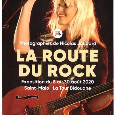 EXPOSITION PHOTOS ROUTE DU ROCK EN IMAGES