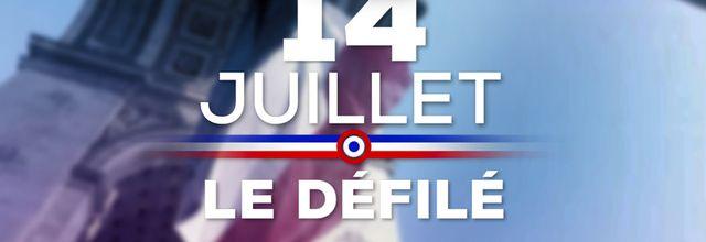 Anne-Claire Coudray et Gilles Bouleau aux commandes d'une émission spéciale pour le défilé du 14 juillet sur TF1