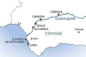 10 au 17 Octobre 2019 : Croisière fluviale sur le QUADALQUIVIR en ANDALOUSIE
