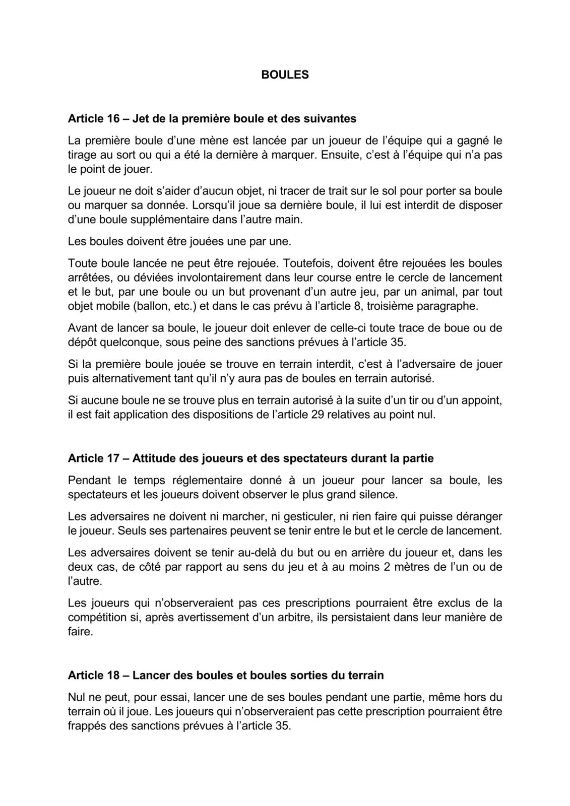 Nouveau REGLEMENT FFPJP à/c du 1er Janvier 2021