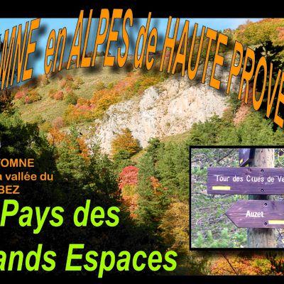 Automne en ALPES de HAUTE PROVENCE ( vallée du Bes ) - pays Dignois