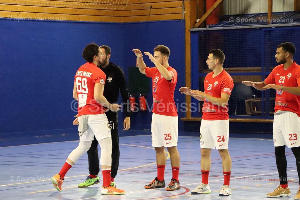 Vénissieux Handball arrache le nul à l'ultime seconde