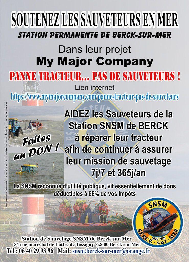 SNSM...3 000€ POUR SAUVER DES VIES ...C'EST URGENT...