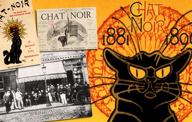 📃 LE CHAT NOIR (1881-1896) UN CABARET, UN JOURNAL (2021)