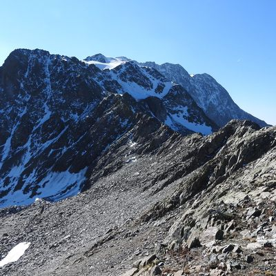 Aiguille de Laisse ou Roc de la Balme (2879m) en boucle