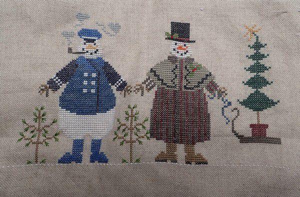 Les bonhommes de neige de Cricket collection