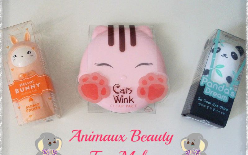 "Mes ""Animaux Beauty"" de TonyMoly"