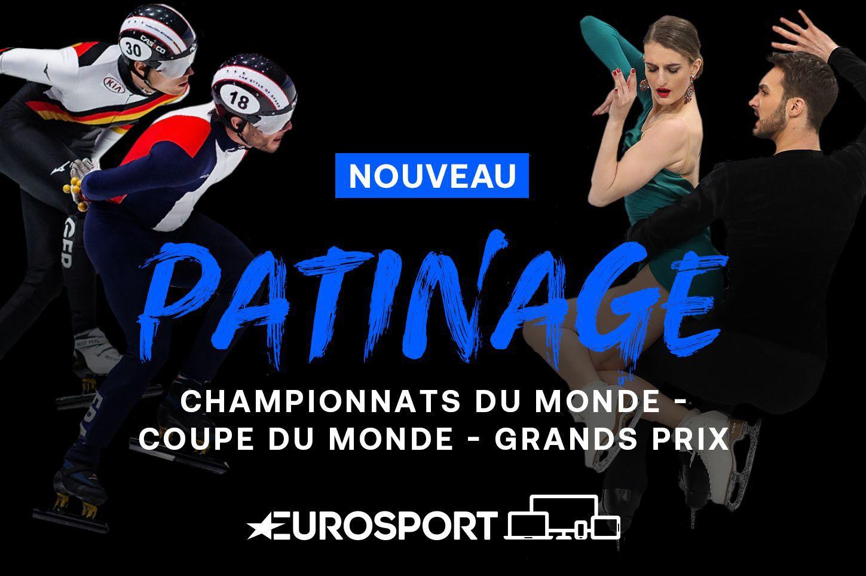 Eurosport enrichit son offre de sports d'hiver avec les droits du patinage