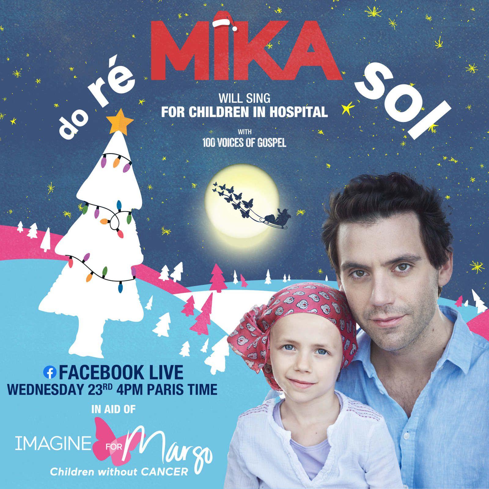 Dès aujourd'hui,  performances de Mika, Jean-Michel Jarre et David Guetta à suivre sur Facebook.