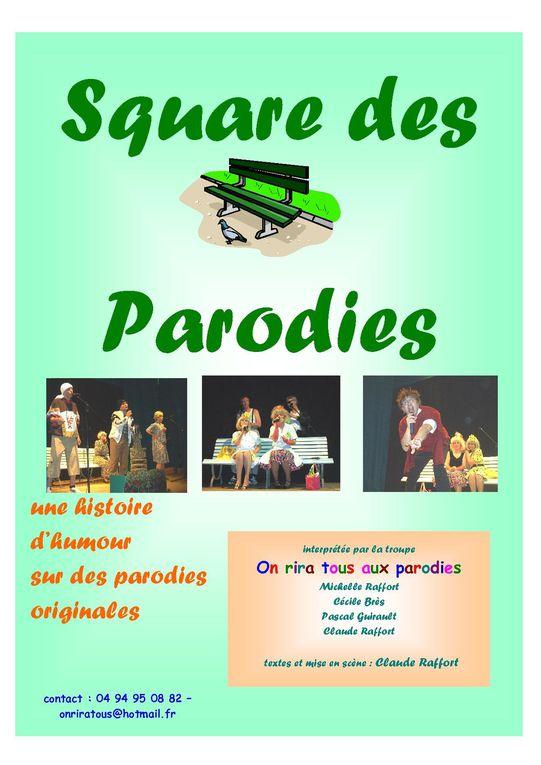 Album - Square des Parodies-la-première (2004)