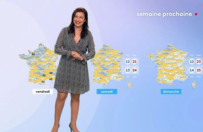 Anaïs Baydemir 22/06/2021 Journaux météo du midi