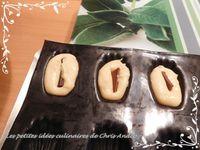 Mini madeleines caramel et chocolat