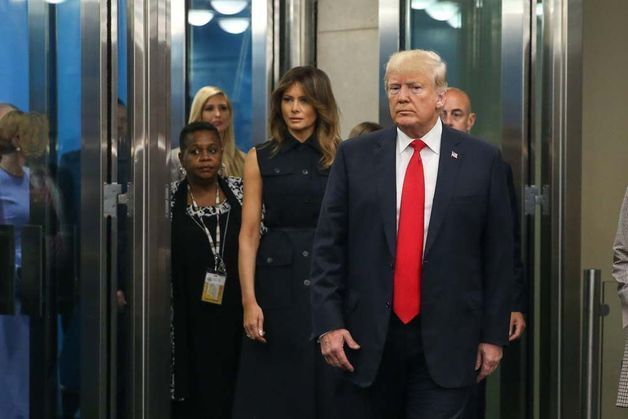 Photos : Melania Trump quitte enfin Donald Trump et les Etats-Unis !