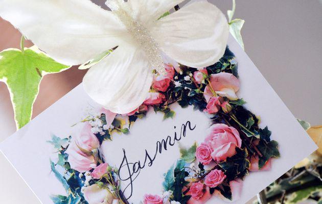 Les Petits trésors de Julie   Papeterie Mariage Fleurs inspirée de Dior