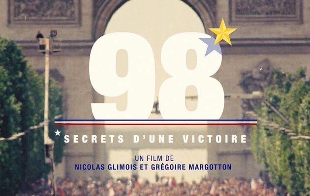 Audiences : 4,8 millions de téléspectateurs pour le documentaire « 98, les secrets d'une victoire »