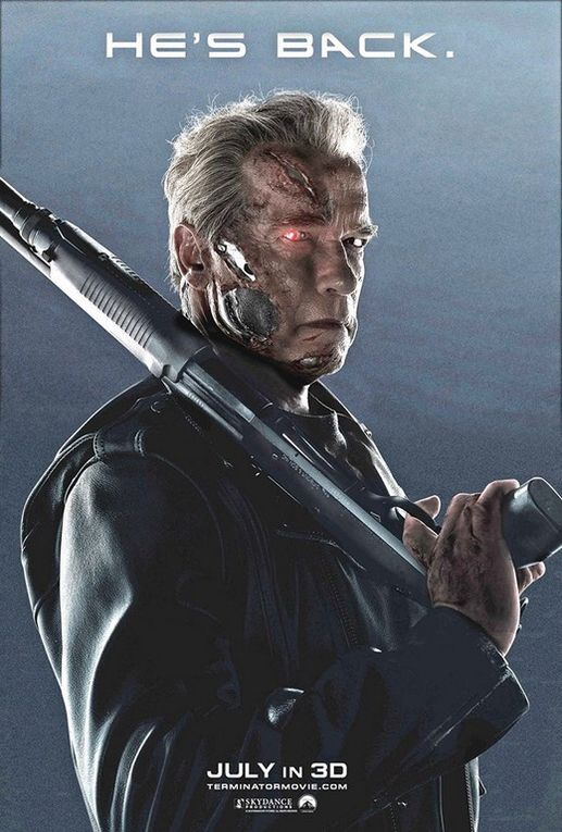 """He's back !!!!!""  TERMINATOR Genisys"