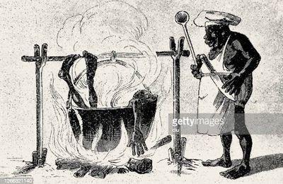 """La fable du jour : """" Drame en Afrique, """" ou """" Le garde-manger des bantous, """" de ... Rotpier !"""