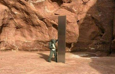 Etats-Unis : le monolithe de métal découvert dans le désert de l'Utah a disparu