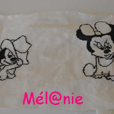 serviette Mickey - 1 -