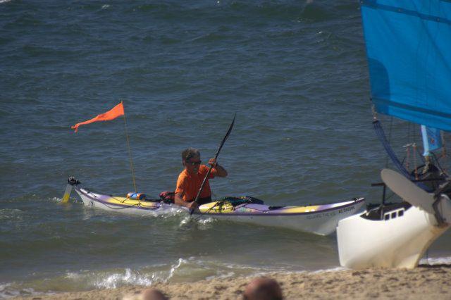 Pique nique à Arguin avec le bateau des Bigouden
