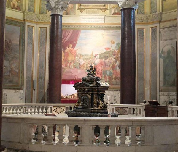 Rome - Le Baptistère de Saint - Jean- Baptiste