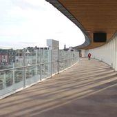 Saint-Brieuc. Avant son ouverture, visite de la passerelle de la gare [Vidéo]