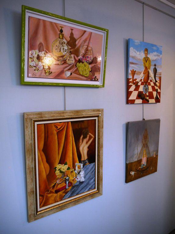 Marie Josée LEMILLE expose en Octobre à la Galerie de l'Atelier
