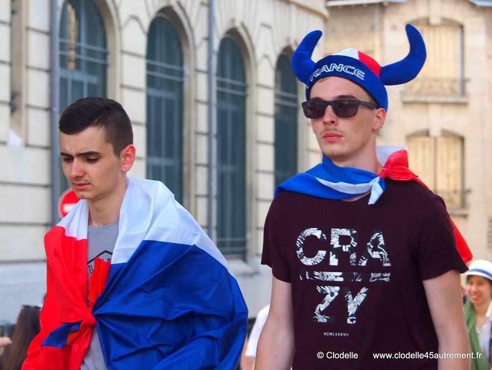 Coupe du monde de football: Retransmission sur écran géant au Campo Santo d'Orléans – 6 juillet France/ Uruguay