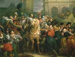 Le 22 mars 1594, Henri IV entre triomphalement à Paris