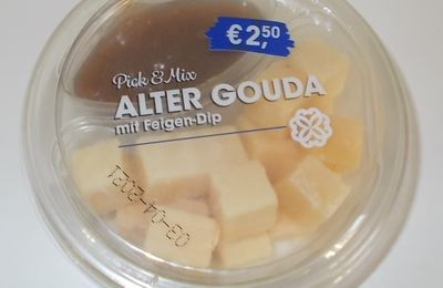 Aldi Pick & Mix Alter Gouda mit Feigen-Dip