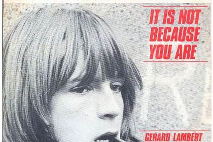 It's not because you are (RENAUD)