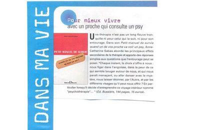 """""""Petit manuel de survie.. """" Editions Bussière"""
