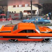 CUSTOM 64 GALAXIE 500 XL HOT WHEELS 1/64 FORD GALAXIE 500XL + ERREUR BLISTER ERROR - car-collector.net