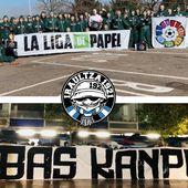 """""""La Liga de Papel"""": un clip des ultras d'Alavès dénonce le football marchand à l'heure de la reprise en Espagne"""