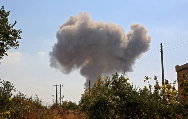US conducts air strikes against Iranian-backed militia in Syria