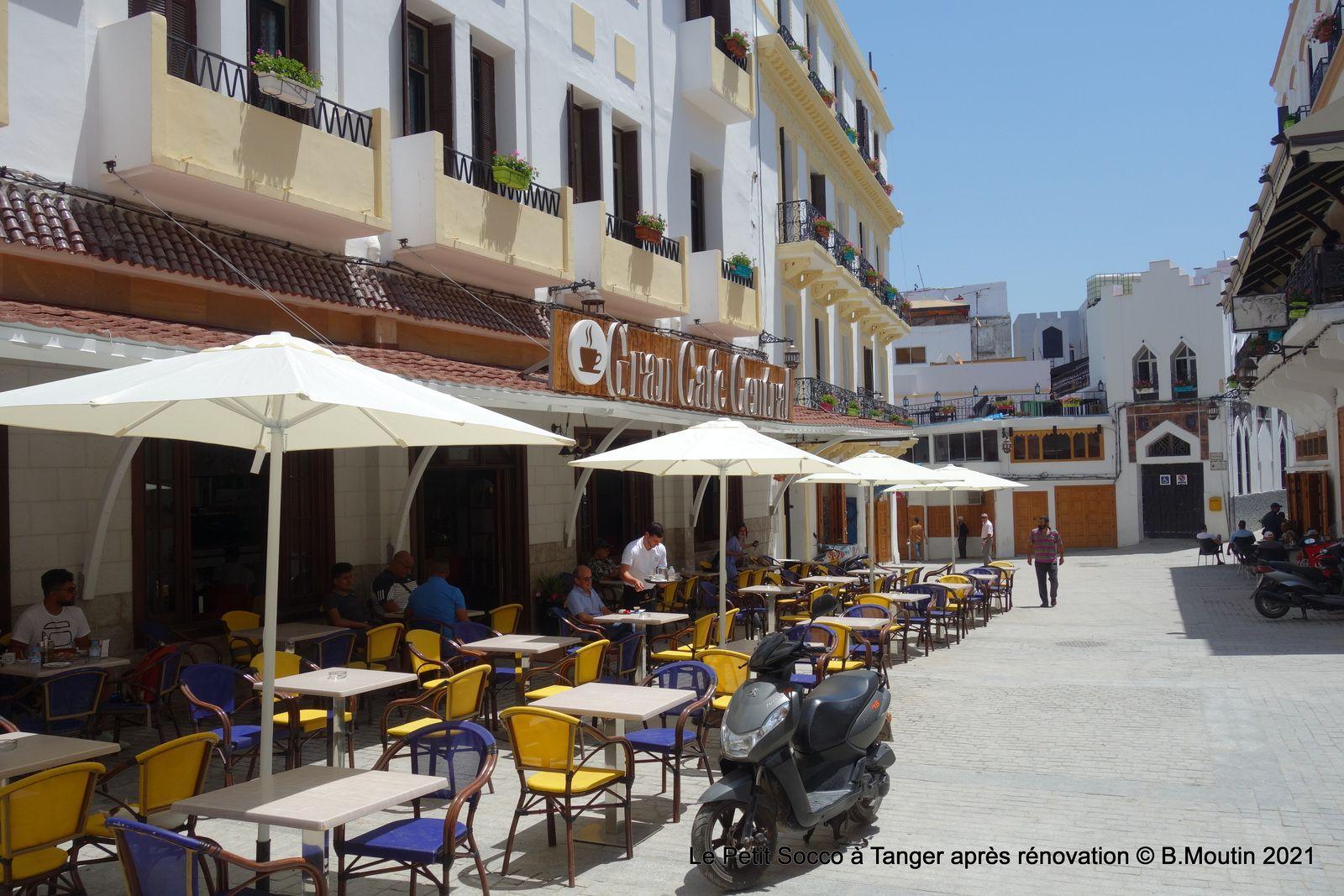 Le Café Central est ré-ouvert et le Petit Socco fini d'être rénové (3 photos)