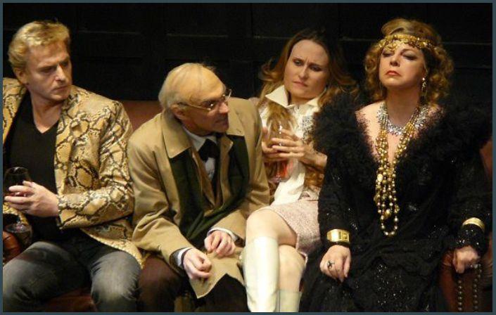 Misha Didyk (Manrico), Giovanni Furlanetto (Ferrando), Marina Poplavskaya (Leonore) et  Sylvie Brunet-Grupposo (Azucena)