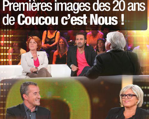 Premières images des 20 ans de Coucou c'est Nous !