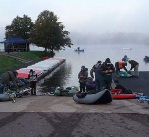 Concours Float-tube, plan d'eau du Vallon, Autun...