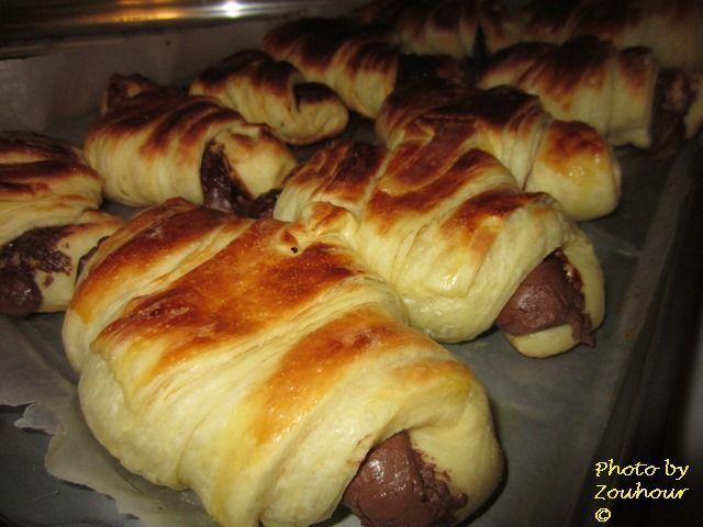 Croissants au beurre   de Christophe Felder