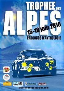 RALLYE TROPHEE DES ALPES 15 - 18 JUIN 2016